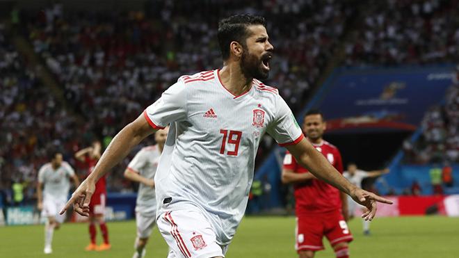 Video clip highlights bàn thắng Iran 0-1 Tây Ban Nha: Người hùng Diego Costa