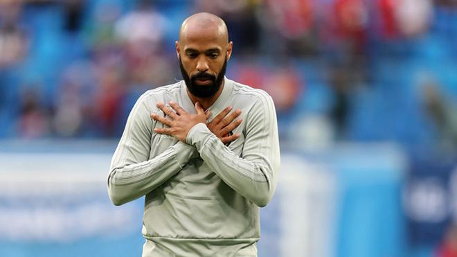 Pháp vs Bỉ: Thierry Henry đã chọn hát quốc ca Pháp