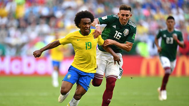 VIDEO: Pha bứt tốc đỉnh cao của Willian giúp Neymar mở tỷ số cho Brazil