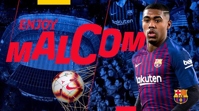 Malcom chỉ là bản hợp đồng 'chữa cháy' của Barca?