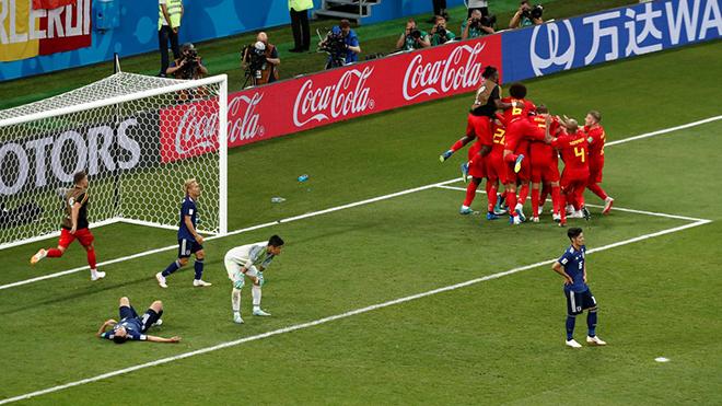 Bỉ 3-2 Nhật Bản: Lội ngược dòng ngoạn mục!