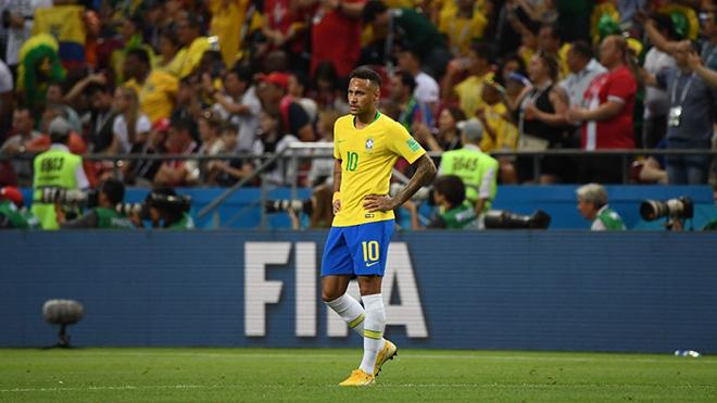 Brazil 1-2 Bỉ: Neymar lại lỡ hẹn với giấc mơ World Cup...