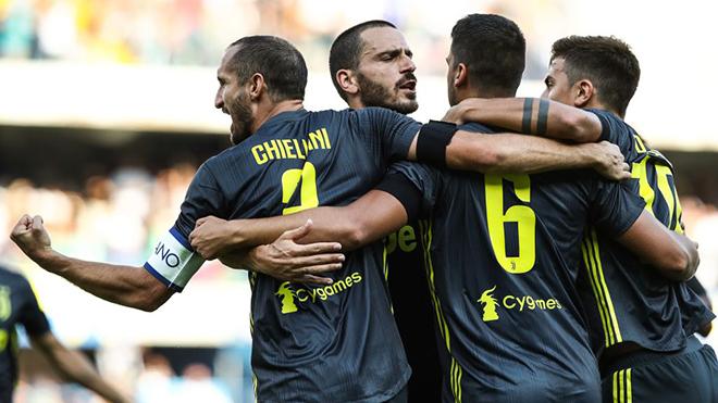 Chievo 2-3 Juventus: Cristiano Ronaldo tịt ngòi trong trận đấu ra mắt