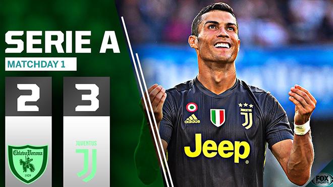Cristiano Ronaldo đá thế nào trong trận ra mắt Serie A?