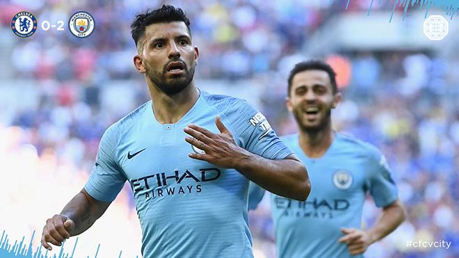 Video clip bàn thắng Man City 2-0 Chelsea