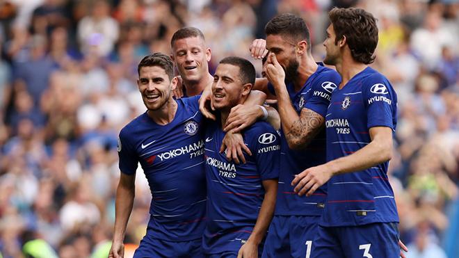 Video Chelsea 4-1 Cardiff: Eden Hazard rực sáng