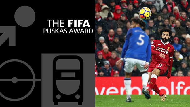 Bàn thắng giành giải Puskas chỉ là bàn đẹp thứ... 7 mùa giải của Salah
