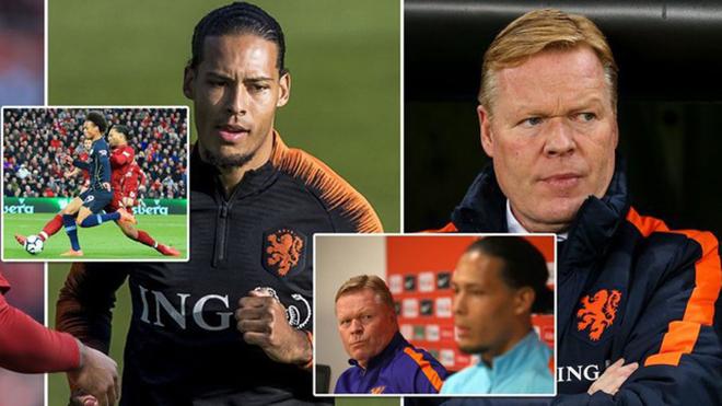 Nội bộ Hà Lan: Van Dijk đánh mất phong độ, bị HLV chỉ trích khi lên tuyển