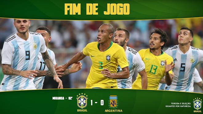 ĐIỂM NHẤN Brazil 1-0 Argentina: Sự khác biệt nằm ở đội hình, Neymar toả sáng đúng lúc