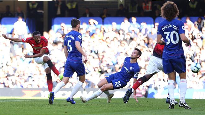 ĐIỂM NHẤN Chelsea 2-2 M.U: Show của Martial. Mourinho hay nhưng Sarri cũng giỏi