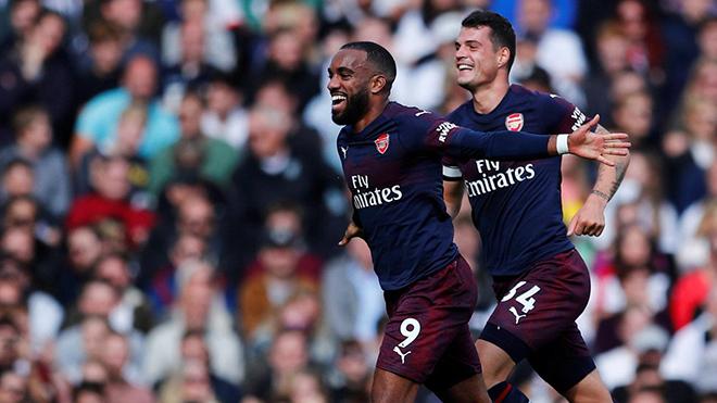 ĐIỂM NHẤN Fulham 1-5 Arsenal: Không thể ngăn cản Lacazette. Âm thầm vào Top 4