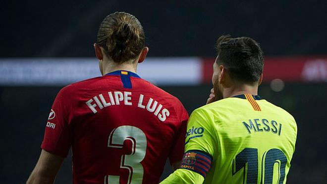Cộng đồng mạng phát cuồng vì Messi 'hạ nhục' Filipe Luis và Antoine Griezmann