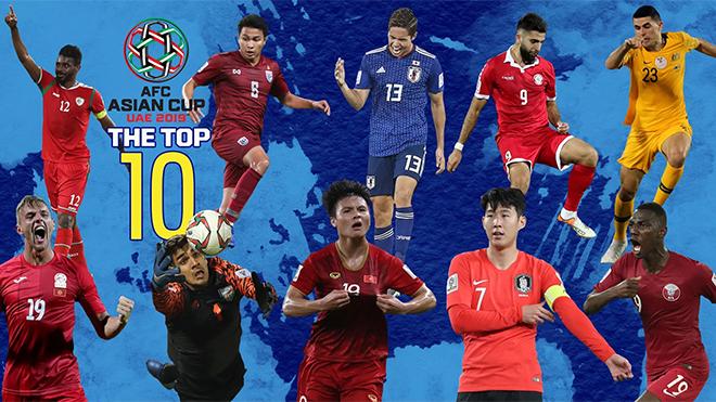 Quang Hải lọt vào Top 10 cầu thủ xuất sắc nhất lượt cuối vòng bảng Asian Cup 2019