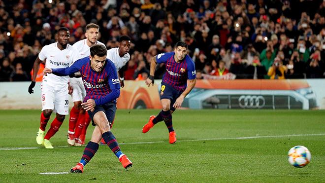 Philippe Coutinho cảm ơn Leo Messi vì được nhường sút phạt đền