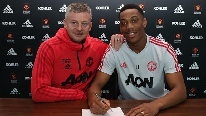 CHUYỂN NHƯỢNG M.U 1/2: Anthony Martial ký hợp đồng 5 năm. Tính gây sốc với thần đồng 16 tuổi