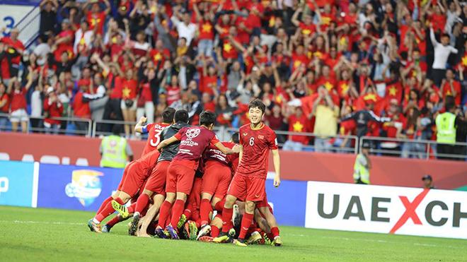 ĐT Việt Nam thăng tiến trên BXH FIFA sau Asian Cup 2019, lọt Top 16 châu Á