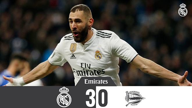 VIDEO Real Madrid 3-0 Alaves: Bước chạy đà cho Kinh điển với Barcelona