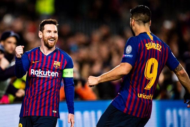 Kết quả Cúp C1. Video Barcelona 5-1 Lyon. Bốc thăm tứ kết C1. Kết quả bóng đá