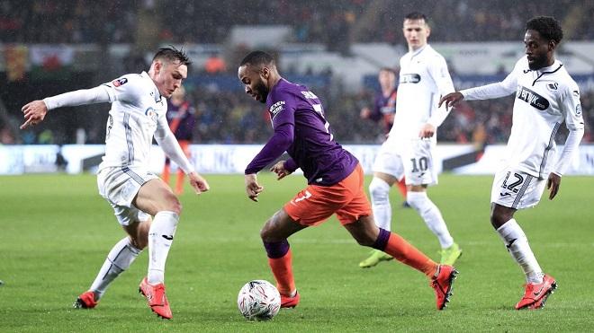 Kết quả bóng đá hôm nay, kết quả bóng đá, ket qua bong da, kqbd, kết quả Swansea vs Man City, video clip highlights Swansea vs Man City, kết quả cúp FA, Aguero, Silva