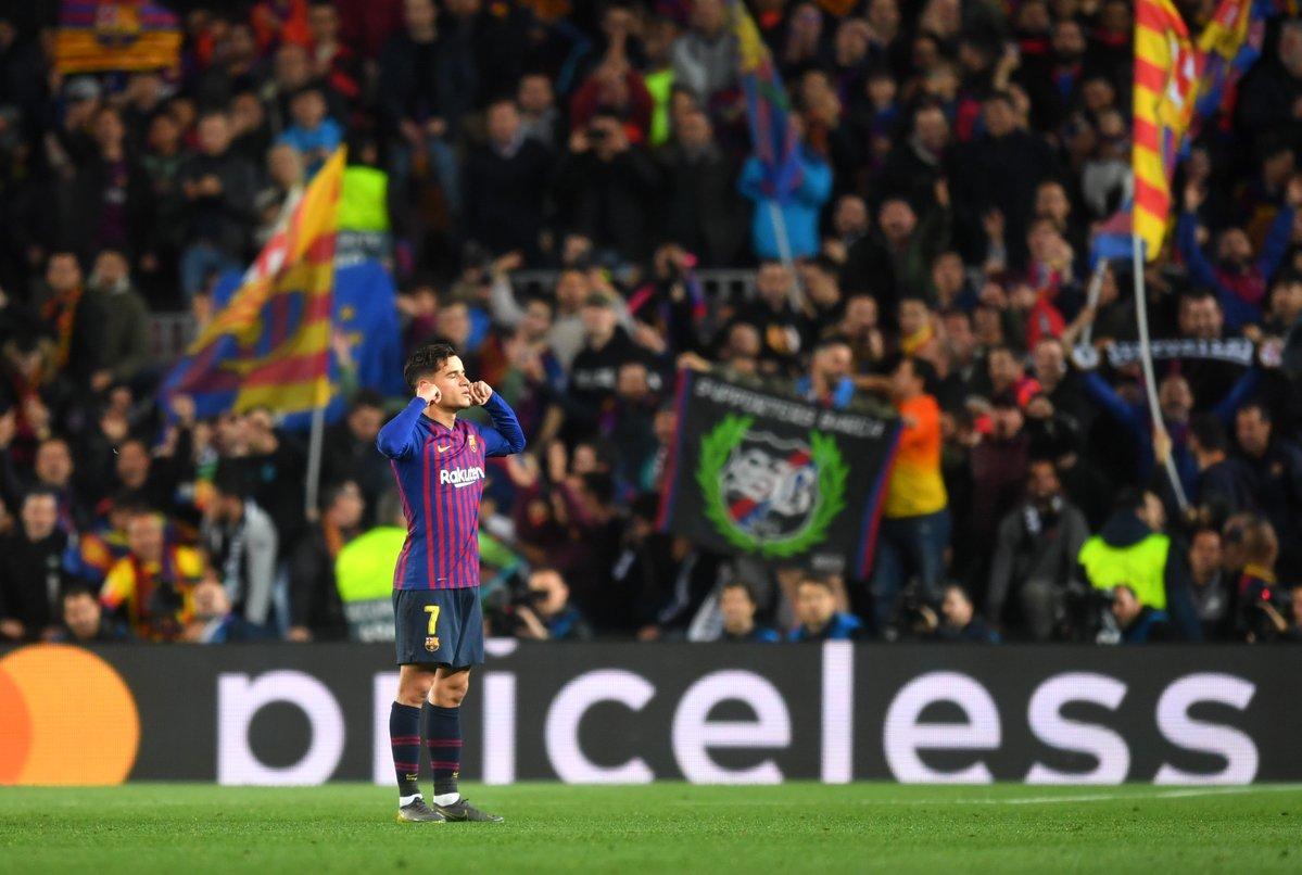 Barcelona 0-3 MU, Barca vs MU, kết quả Barca vs MU, video Barca 3-0 MU, tỷ số Barca vs MU, kết quả tứ kết cúp C1, De Gea, Messi, Pogba, Ole Solskjaer, Coutinho, MU, Barca