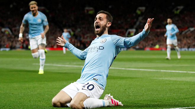 MU 0-2 Man City: Nhấn chìm MU trên Old Trafford, Man City trở lại ngôi đầu BXH