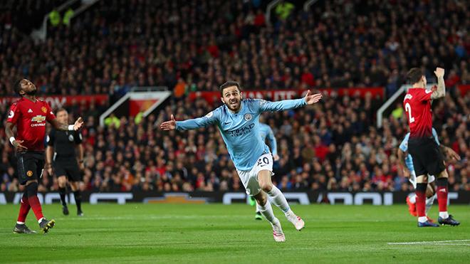 VIDEO MU 0-2 Man City: Quỷ đỏ bất lực, Man City tiến gần ngôi vương