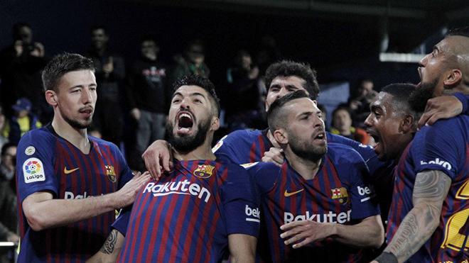 VIDEO Villarreal 4-4 Barcelona: Messi sút phạt ghi bàn từ ghế dự bị, Barca thoát thua ngoạn mục