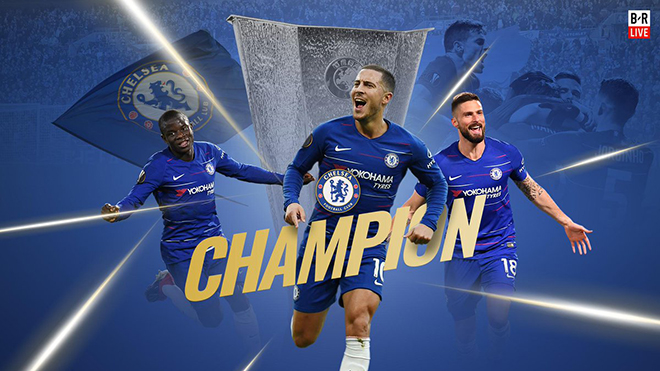 VIDEO Chelsea 4-1 Arsenal: Eden Hazard tỏa sáng, Chelsea vô địch Europa League 2019