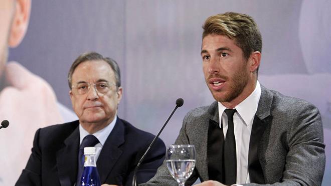 """Kết quả hình ảnh cho Real Madrid cạn tình, cố """"bóc lột"""" Sergio Ramos"""