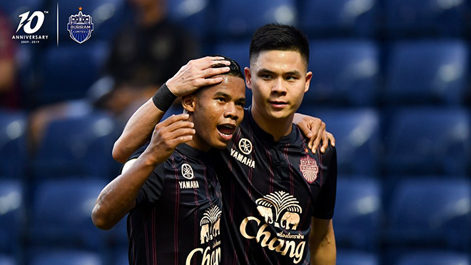 Port FC 1-3 Buriram United: Xuân Trường dự bị, ĐKVĐ Buriram vẫn thắng áp đảo