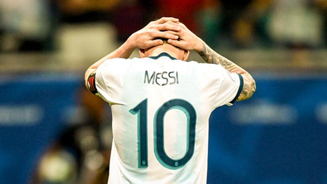 Video Argentina 0-2 Colombia: Messi mờ nhạt, Argentina ôm hận ngay trận mở màn