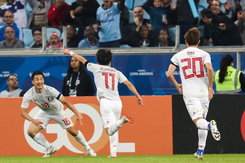 Kết quả Uruguay vs Nhật Bản, video Uruguay 2-2 Nhật Bản, Koji Miyoshi, bại tướng trước U23 Việt Nam, Nhật Bản, Uruguay, Lịch thi đấu Copa America 2019, Copa America 2019