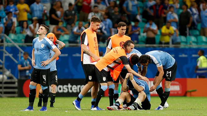 VIDEO Uruguay 0-0 (pen: 4-5) Peru: Luis Suarez sút hỏng 11m, Uruguay bị loại sốc ở tứ kết