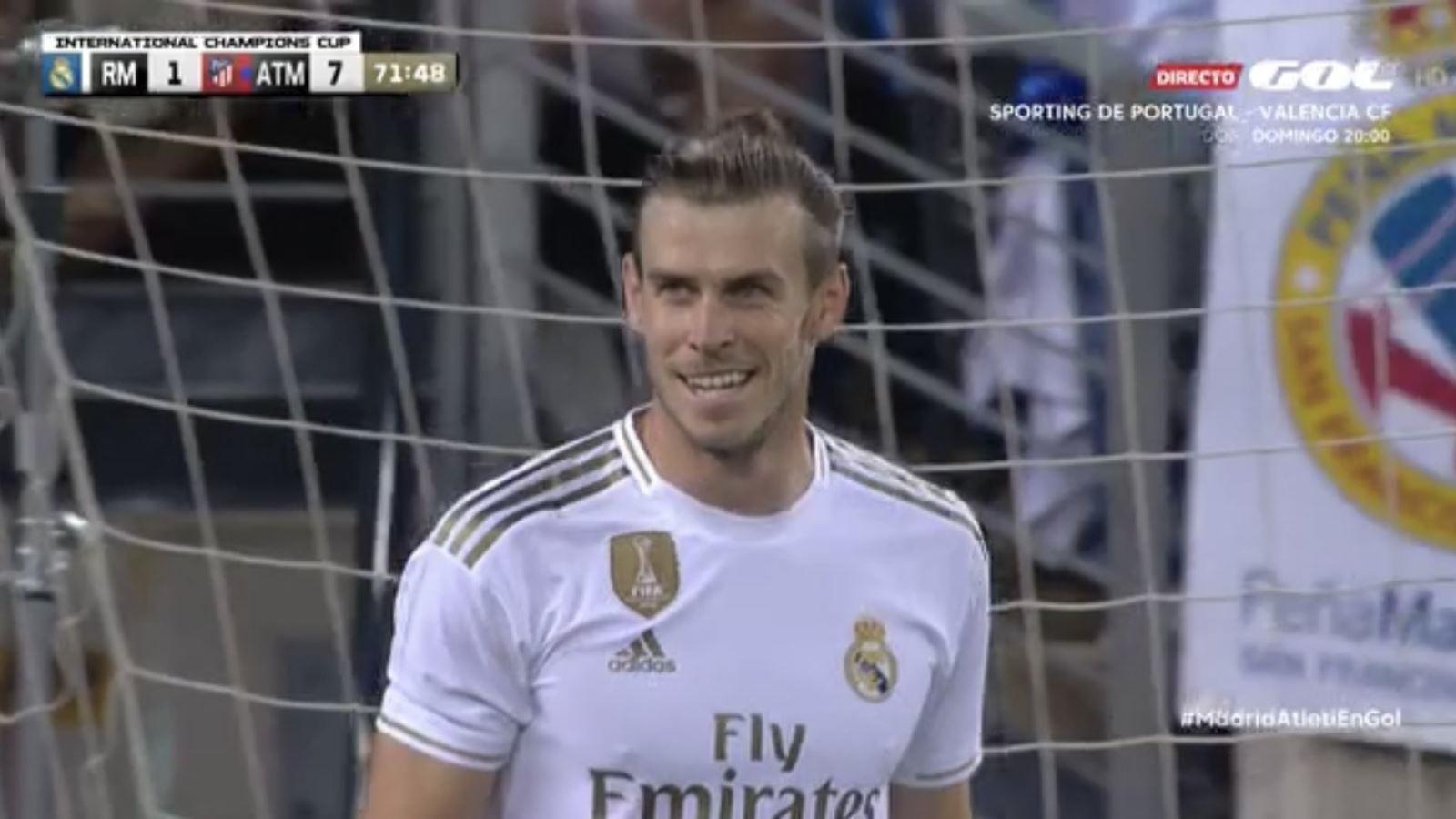 Real, chuyển nhượng Real, Real Madrid, chuyển nhượng Real Madrid, Real Madrid vs Atletico, Real Madrid 3-7 Atletico, Gareth Bale cười đùa, Bale tới Trung Quốc, Bale