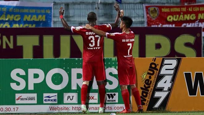 Viettel, Quảng Nam, Viettel 1-1 Quảng Nam, Vũ Hồng Việt, Hải Biên, V League 2019, V League, kết quả V League, bảng xếp hạng V League, bxh v league, xin điểm