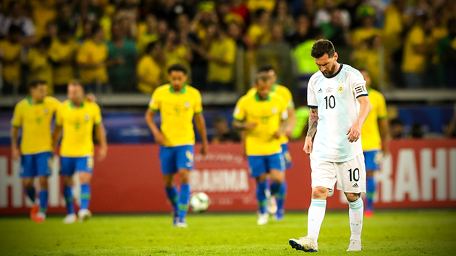CHẤM ĐIỂM Brazil 2-0 Argentina: Gabriel Jesus xuất sắc nhất. Leo Messi hoàn toàn bất lực