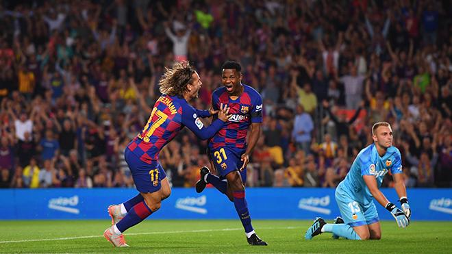 Bong da, bóng đá, lich thi dau bong da hom nay, ket qua bong da, kết quả bóng đá, tin tức bóng đá hôm nay, Barca vs Valencia, video Barca 5-2 Valencia, Ansu Fati, Suarez, Fati