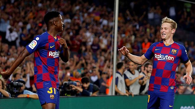 Bong da, bóng đá, lich thi dau bong da hom nay, ket qua bong da, kết quả bóng đá, tin tức bóng đá hôm nay, Barca vs Valencia, video Barca 5-2 Valencia, Ansu Fati, Suarez
