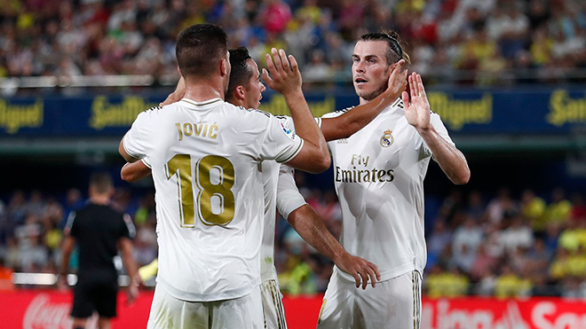 Bong da, bóng đá, bóng đá hôm nay, Villarreal vs Real Madrid, Villarreal vs Real, Video Villarreal 2-2 Real Madrid, video Villarreal 2-2 Real, Gareth Bale, cú đúp, thẻ đỏ