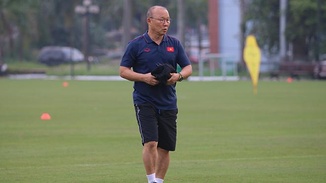 HLV Park Hang Seo: 'May khi U23 Việt Nam không cùng bảng U23 Hàn Quốc'