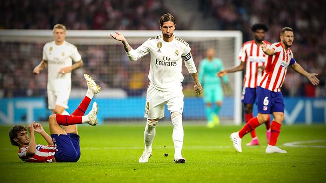 Bong da, bóng đá, ket qua bong da, kết quả bóng đá, lịch thi đấu bóng đá hôm nay, Atletico vs Real Madrid, BXH bóng đá Tây Ban Nha, BXH La Liga, Real Madrid, Hazard, Ramos