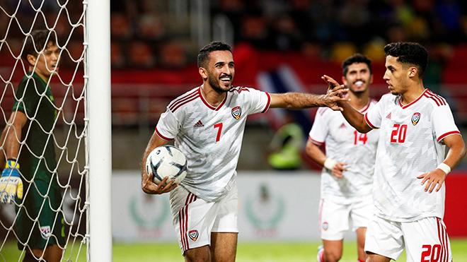 bong da, bóng đá, truc tiep bong da hôm nay, trực tiếp bóng đá,  bong da hom nay, lich thi dau bong da, đội tuyển UAE, Việt Nam, Việt Nam vs UAE, Ali Mabkhout