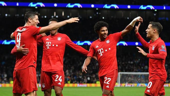 ket qua bong da hôm nay, kết quả bóng đá, kết quả Cúp C1, kết quả C1, truc tiep bong da hôm nay, trực tiếp bóng đá, Tottenham 2-7 Bayern, Bayern hủy diệt Spurs, Gnabry