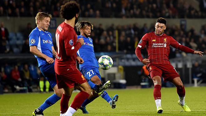 ket qua bong da hôm nay, kết quả bóng đá, ket qua bong da, Genk 1-2 Liverpool, kết quả Genk Liverpool, kết quả Cúp C1, Cúp C1, Oxlade-Chamberlain, bóng đá, bong da