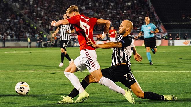 Ket qua bong da, kết quả bóng đá, Partizan vs MU, kết quả Partizan vs MU, kết quả cúp C2 châu Âu, Martial, MU xóa dớp sân khách, Partizan 0-1 MU, MU phong độ sân khách