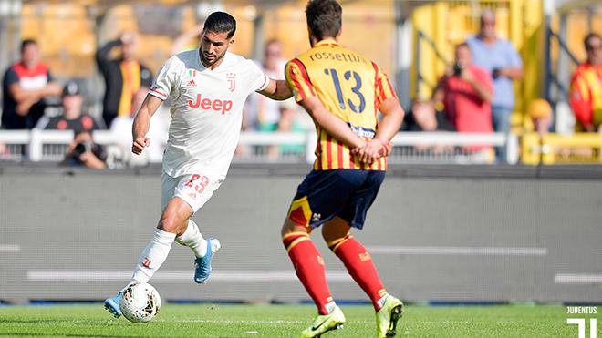 Ket qua bong da, kết quả bóng đá hôm nay, kết quả bóng đá Ý, lecce 1-1 Juventus, kết quả bóng đá Juve đấu với Lecce, kết quả bóng đá trực tuyến, Juve 1-1 Lecce