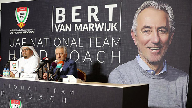 Truyền thông UAE: Trận gặp Việt Nam sẽ quyết định tương lai của van Marwijk