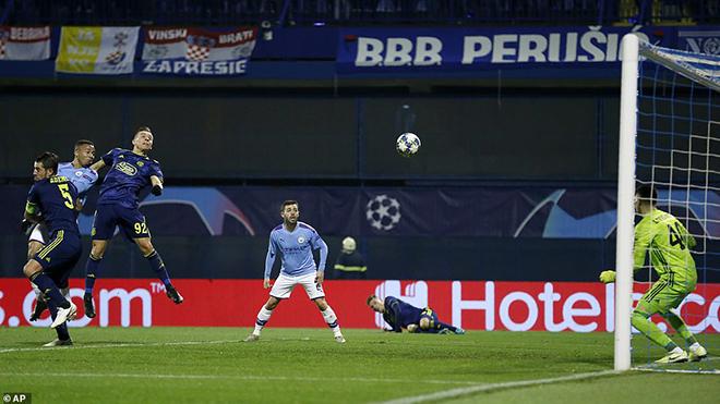 Ket qua bong da, kết quả bóng đá mới nhất, kết quả cúp C1, kết quả Dinamo Zagreb vs Man City, Dinamo Zagreb 1-4 Man City, Gabriel Jesus, Man City, thiếu fairplay, cúp C1