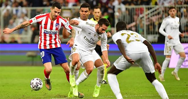 Xem truc tiep bong da, Real Madrid vs Atletico Madrid, trực tiếp bóng đá Tây Ban Nha, BĐTV, SSport, trực tiếp bóng đá La Liga, trực tiếp Real Madrid đấu với Atletico