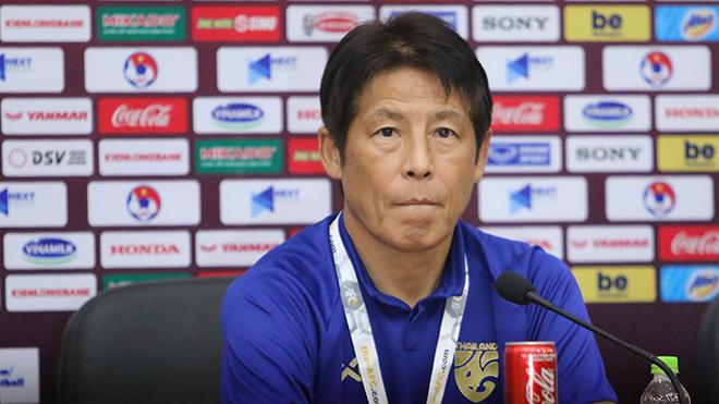 HLV Akira Nishino nói gì sau khi U23 Thái Lan thắng 5-0 trước U23 Bahrain?